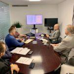 Рабочая встреча руководства